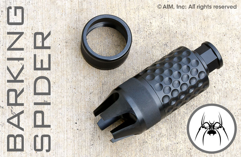 Spike's Tactical Barking Spider2 Krink style 5.56 (1/2in x28) Muzzle Brake
