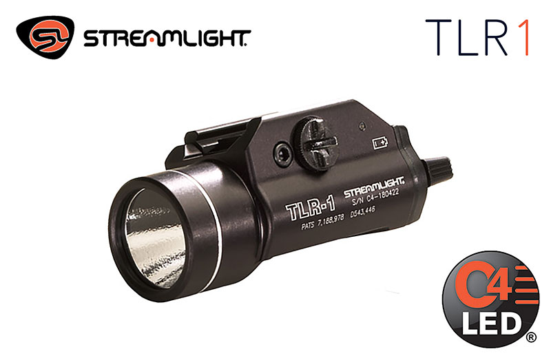 Streamlight TLR-1 HL®, HIGH LUMEN, RAIL-MOUNTED TACTICAL LIGHT