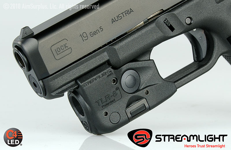 Streamlight TLR-6 Rail Mounted Tactical Gun Light - GLOCK (NO LASER)