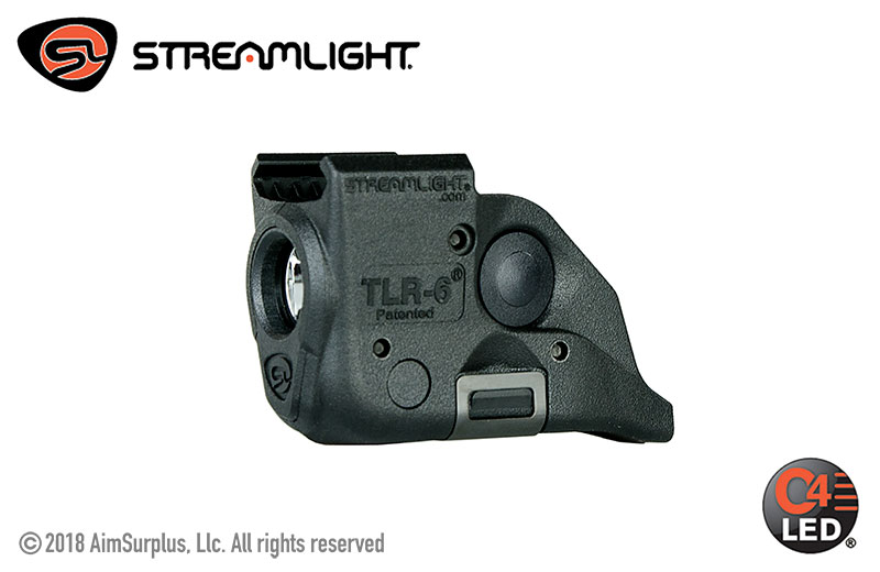 Streamlight TLR-6 Rail Mounted Tactical Gun Light - S&W M&P (NO LASER)