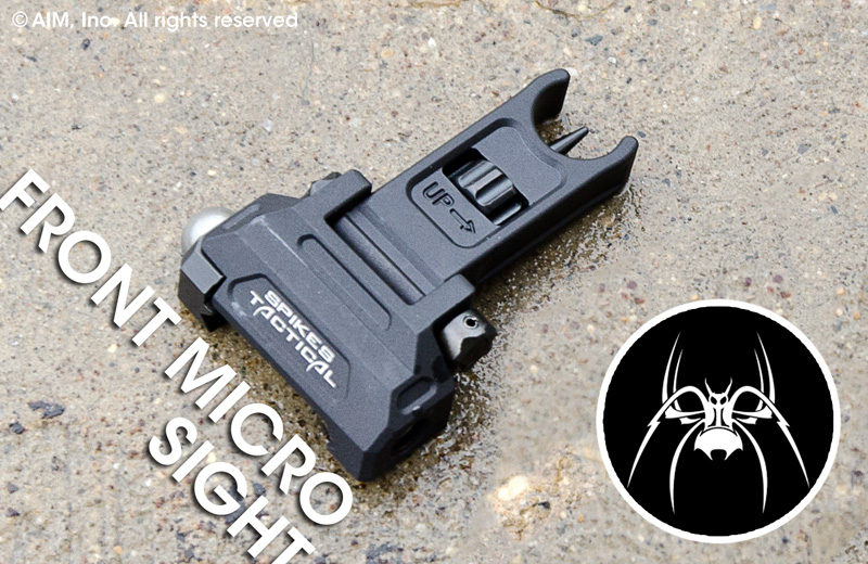 Spike's Tactical Billet Micro Front Folding Sight