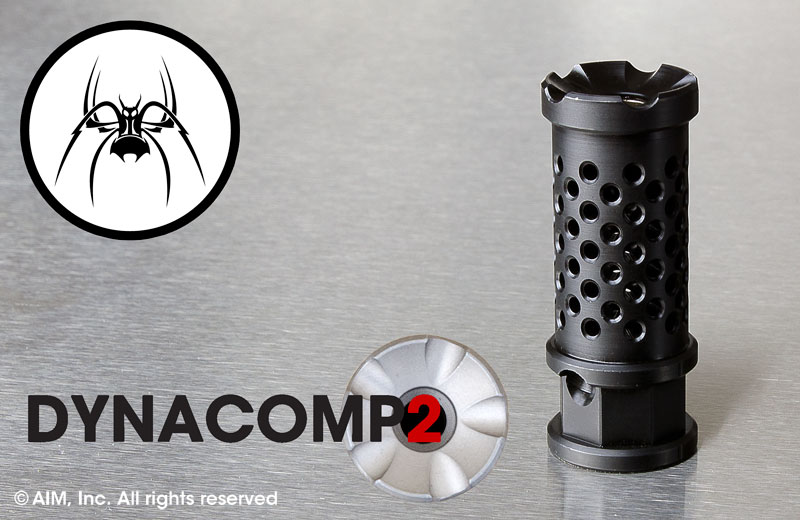 Spike's Tactical Melonite Dynacomp 2 5.56/.223 (1/2in x28) Muzzle Brake
