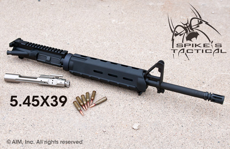 "Spikes Tactical 16"" Mid-Length 5.45x39 Upper Receiver"