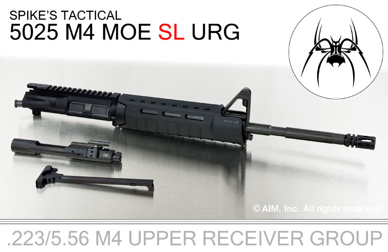 "Spikes Tactical 16"" M4 5.56/.223 MOE SL URG"