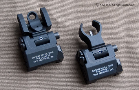 Troy Ind. Micro Folding Battle Sight Set