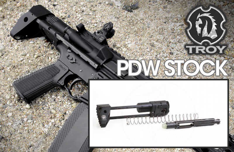 TROY Industries PDW Stock Kit