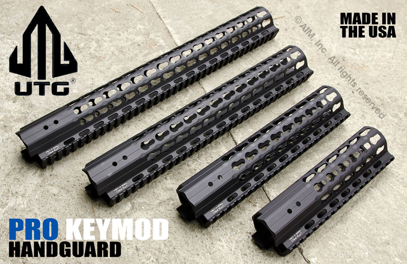 UTG PRO SuperSlim Free Float Keymod AR Rail