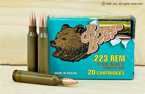 Brown Bear Ammunition