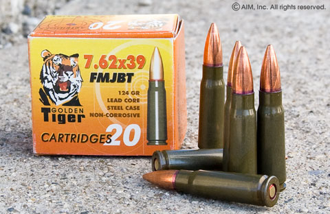 Golden Tiger 7.62x39 FMJ 20rd Box