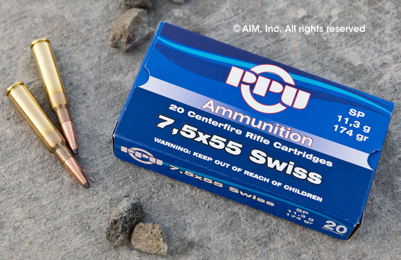 Prvi Partizan PPU 7.5 Swiss 174gr Soft Point 20rd Box