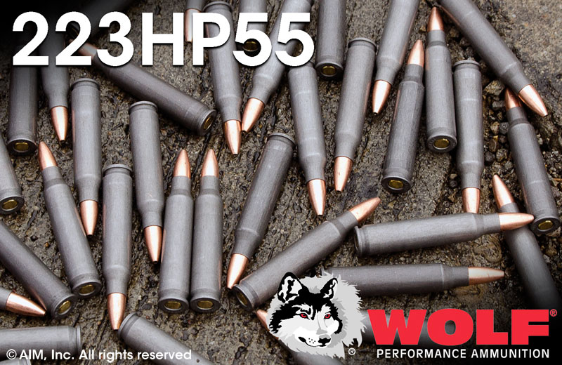 WPA (WOLF) .223 55gn HP 20rd Box