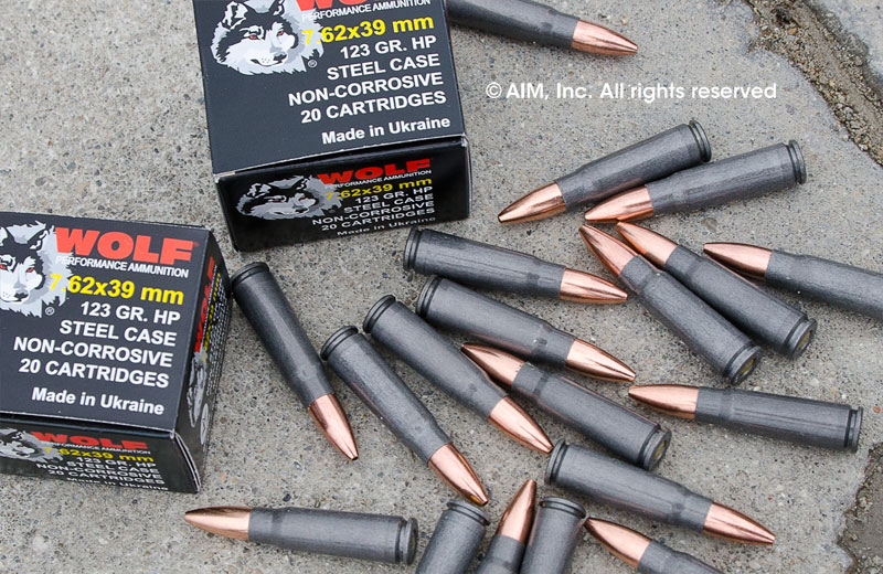 Wolf 7.62x39 Hollow Point 20rd Box