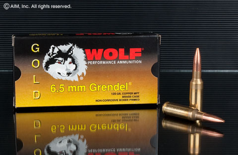Wolf Gold 6.5 Grendel 120grn MPT 20rd Box