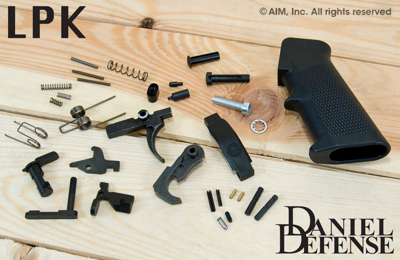 Daniel Defense AR Lower Reciever Parts Kit