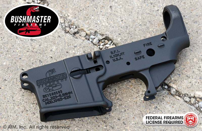 Bushmaster Firearms .223/5.56 Lower Receiver