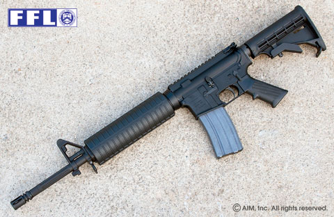 DSA Z4 MidLength 5.56/.223 Rifle