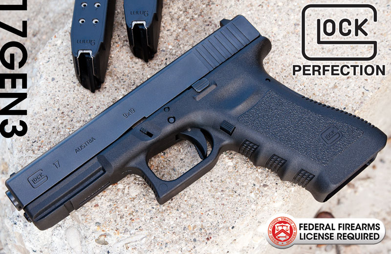 New GLOCK 17 9mm Handgun Gen 3