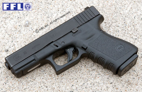 Glock 19 9mm Pistol Gen 3 Used with 15rd mag