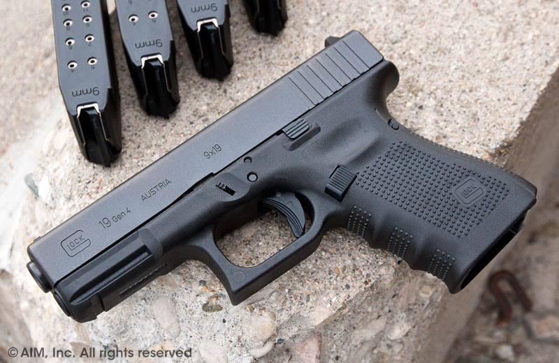 LEO Trade-In GLOCK 19 GEN 4 9mm Handgun