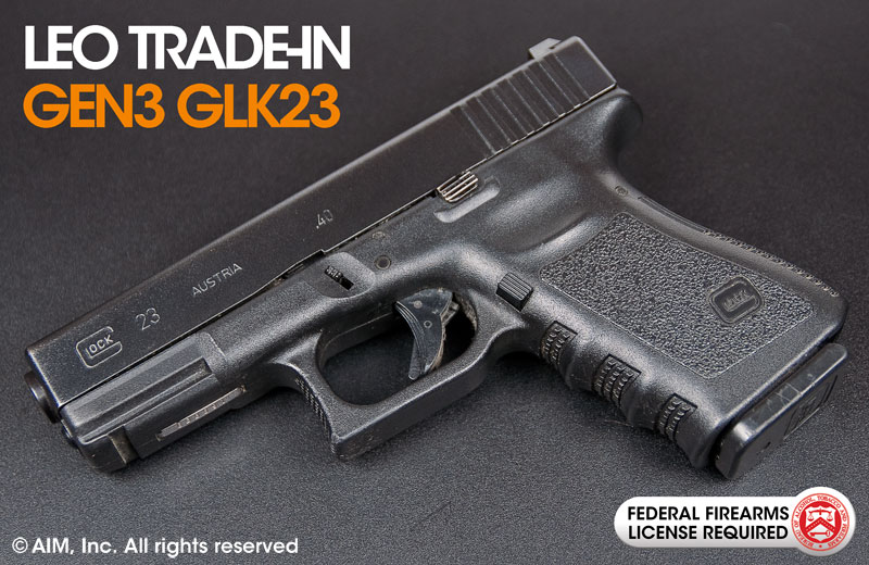 LEO Trade-In Gen 3 Glock 23 .40SW Handgun