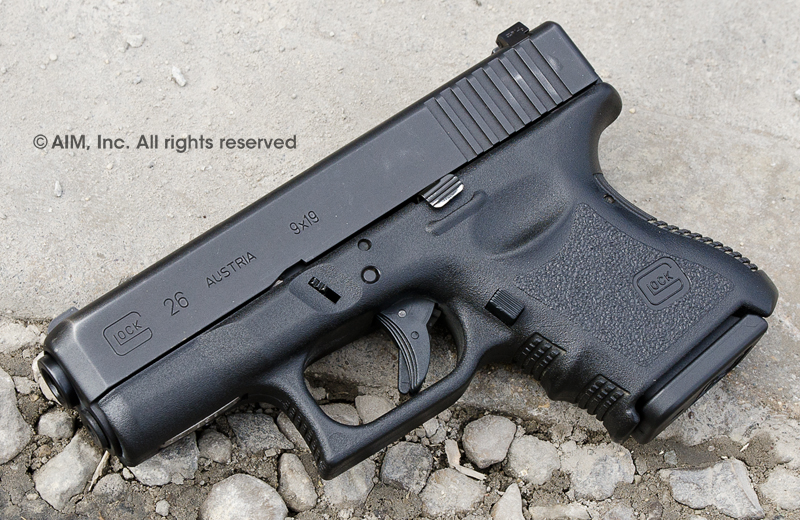 Police Trade-in Glock 26 9mm Handgun