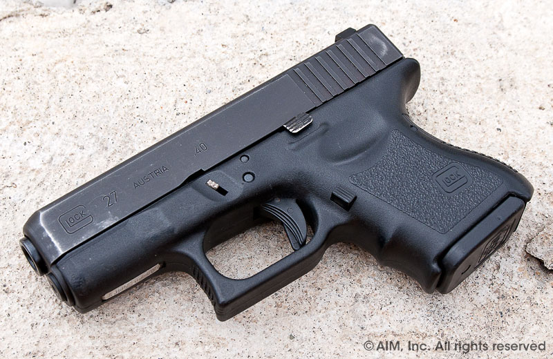 Police Trade-in Glock 27 .40cal Handgun