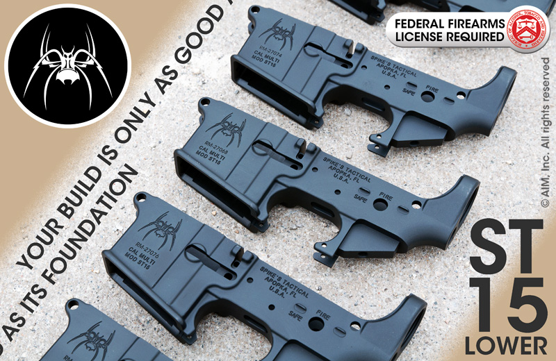 Spike's Tactical Lower Receivers