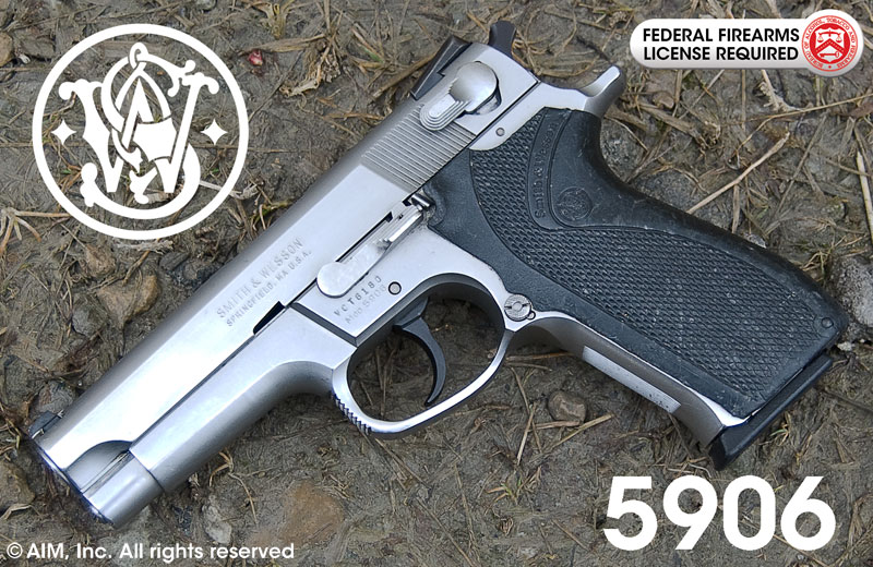 Smith & Wesson Model 5906 9mm Handgun