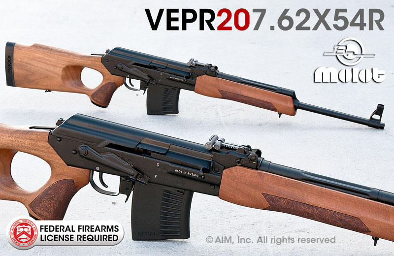 "Russian VEPR 7.62x54R 20"" Rifle"