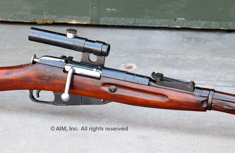 1942 Dated Russian Izhevsk 1891/30 PU 7.62x54R Mosin Nagant Sniper Rifle