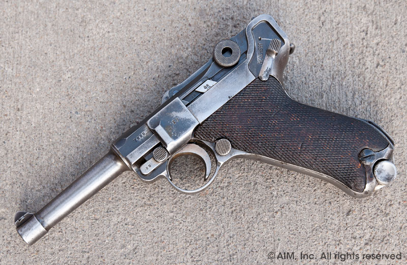Z23943 WWII German Luger P08 9mm Pistol