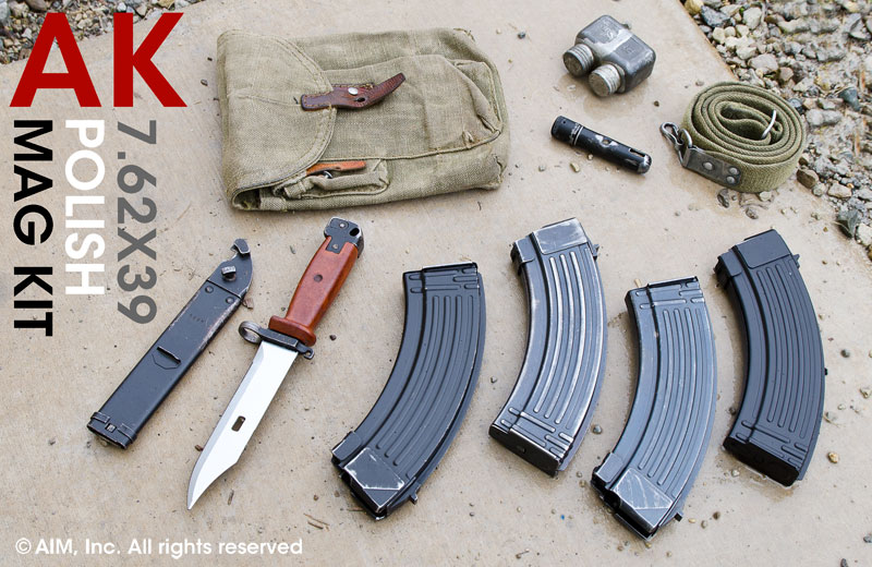 Polish AK47 7.62x39 30rd Magazine Kit
