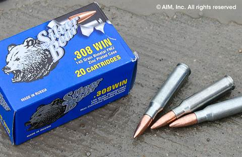 Silver Bear .308 in. 145grn FMJ 20rd Box