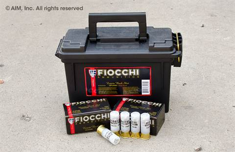 "Fiocchi Low Recoil 12GA 00 Buck 2 3/4"" 80rd can"