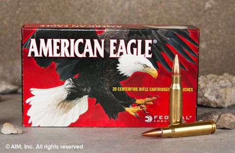 Federal American Eagle .308 Win. 150grn FMJ