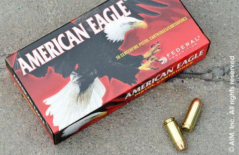 Federal American Eagle .40 S&W 180grn FMJ 50rd Box