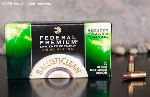 Federal LE 9mm Frangible RHT 98grn 50rd box