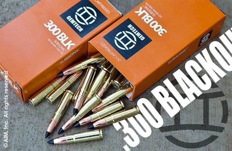 GEMTECH .300 BLACKOUT 187grn Silencer Subsonic 20rd box