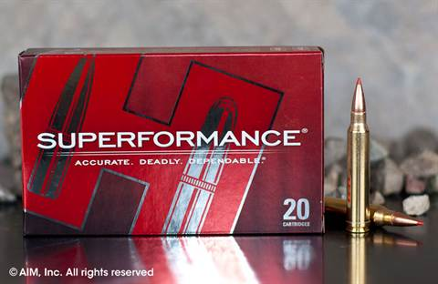 Hornady .300 Winchester Magnum 180grn SST Superformance (82193) 20rd box