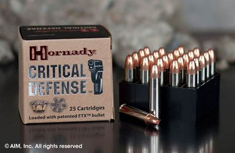 Hornady .30 Carbine 110grn FTX Critical Defense (81030) 25rd box