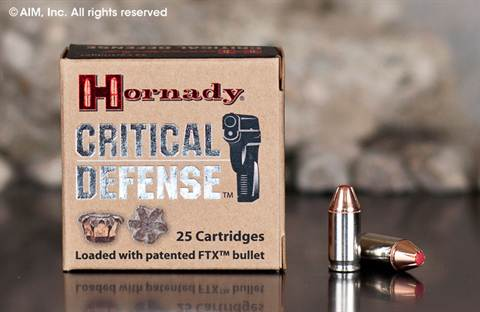 Hornady Critical Defense .380 auto (90080) 90grn FTX 25rd box
