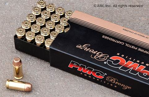 PMC .40 180grn FMJ 1,000rd CASE