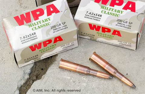 WOLF (WPA) 7.62x54R 200grn Soft Point 20rd Box