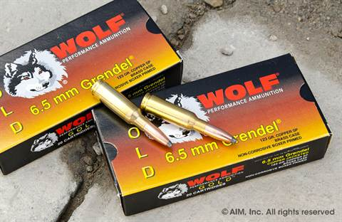Wolf Gold 6.5 Grendel 123grn Soft Point 20rd Box