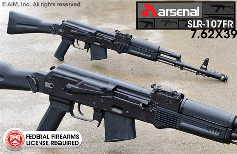 Arsenal SLR-107FR 7.62x39 Rifle