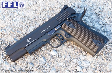 German Sport 1911 22cal Pistol with Fake Can
