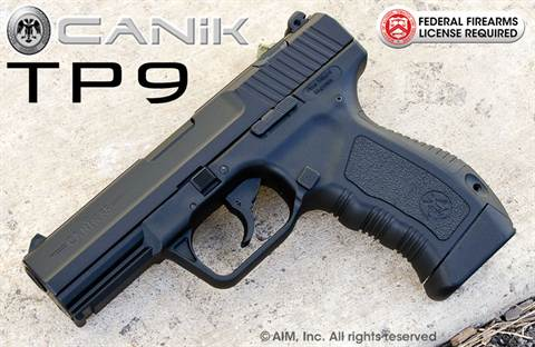 Canik55 TP-9 9mm Handgun Black