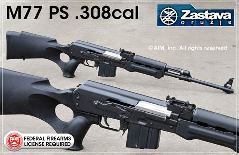 ZASTAVA M77 PS .308 Rifle