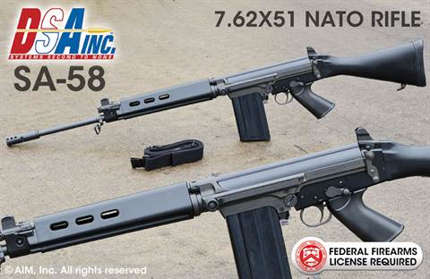 DS Arms FAL SA58 7.62X51 NATO (.308) Rifle, Voyager Edition