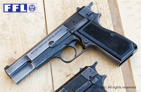 FN (Belgium) Hi Power 9mm Pistol Shooter Grade